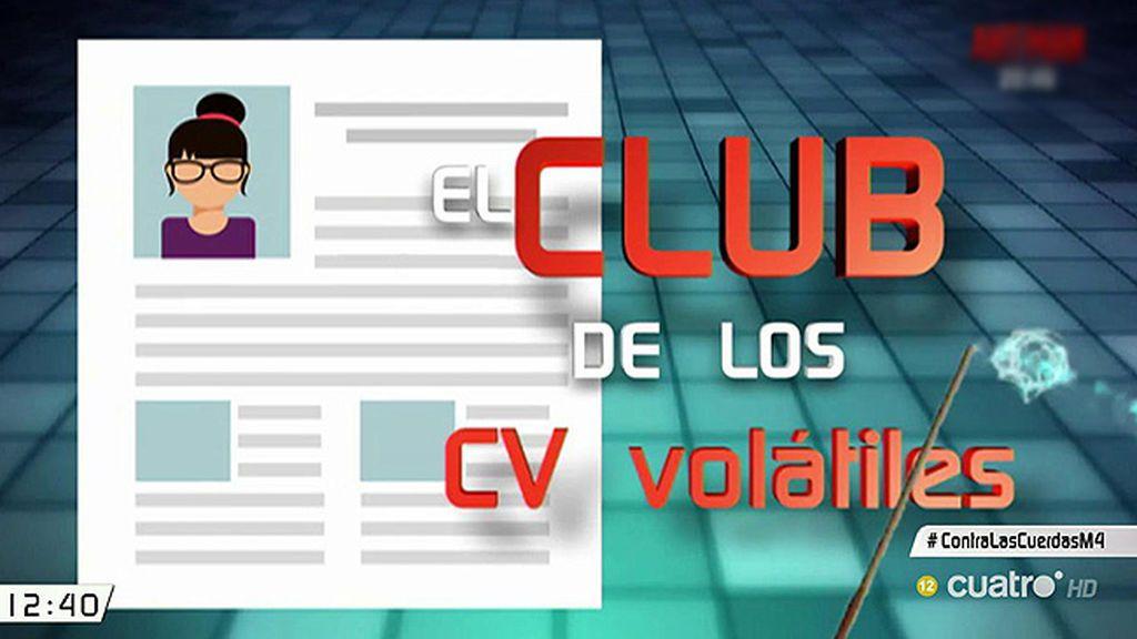 El club de los CV volátiles: estudios que desaparecen del currículum de sus señorías
