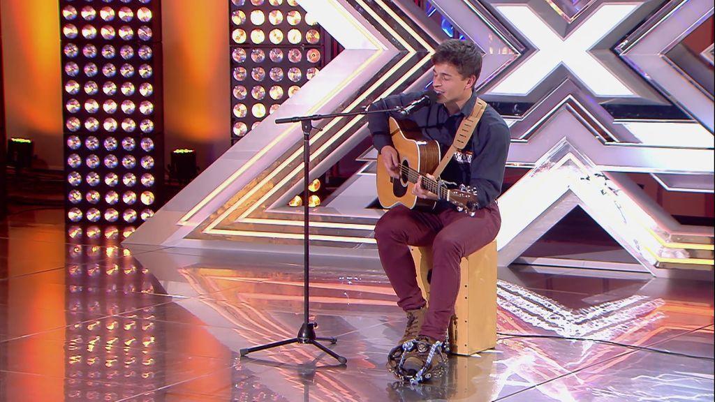 ¡Lágrimas en 'Factor X'! Cesc emociona a todos con su canción en catalán dedicada a su amigo fallecido