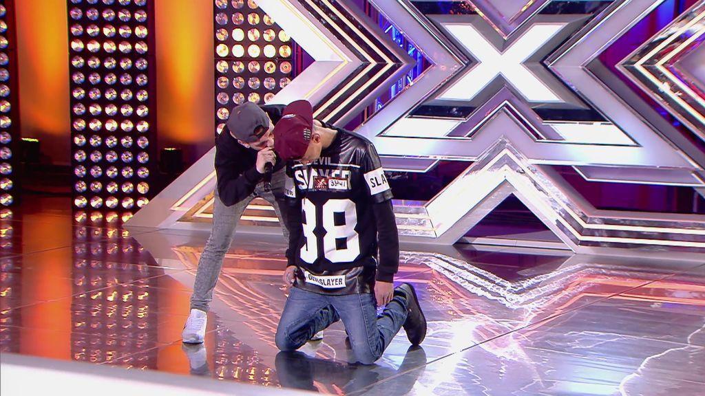 'HZ inflames' se lleva pleno y emociona al jurado de 'Factor X' con su rap contra el maltrato a la mujer