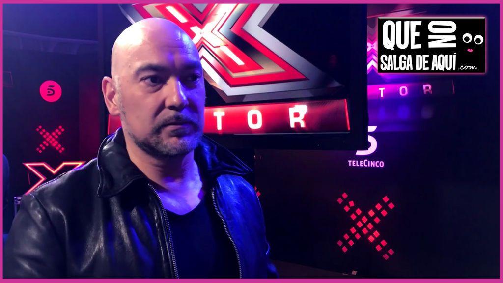 """Fernando Montesinos: """"En 'Factor X' soy más agresivo con los impostores"""""""