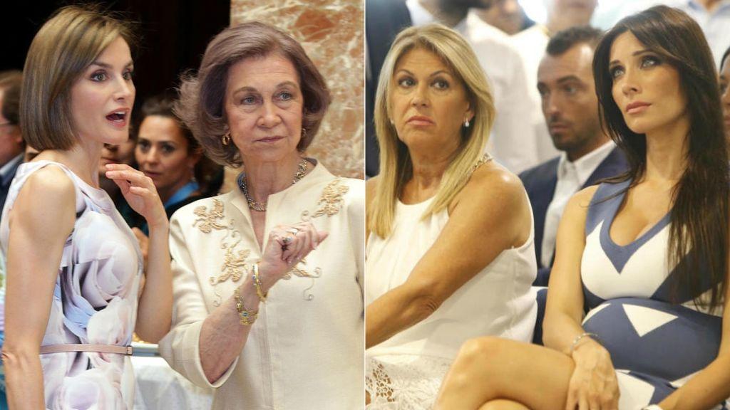 Más allá de la Zarzuela: otras suegras a la gresca y 'a la reconciliación' con sus nueras y yernos