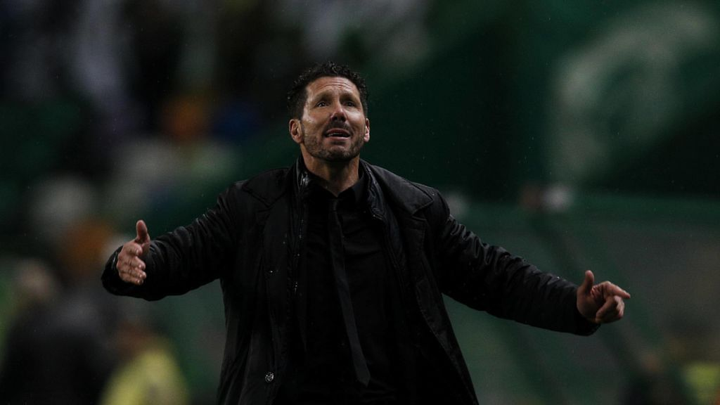 """Simeone: """"Podemos jugar bien o jugar mal, pero este Atleti siempre está ahí compitiendo"""""""