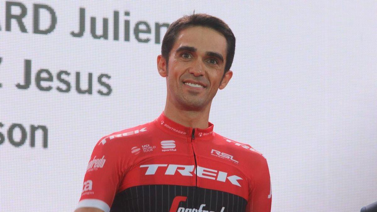 """""""Mi mayor triunfo"""": el tierno anuncio de Alberto Contador para anunciar que ha sido papá"""