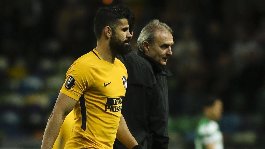 Diego Costa sufre una lesión en el muslo izquierdo y Lucas Hernández, un traumatismo facial