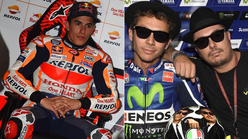 """Yamaha avisa a 'Uccio', el amigo de Valentino Rossi que echó a Márquez del garaje: """"Una más y no vuelves a entrar"""""""