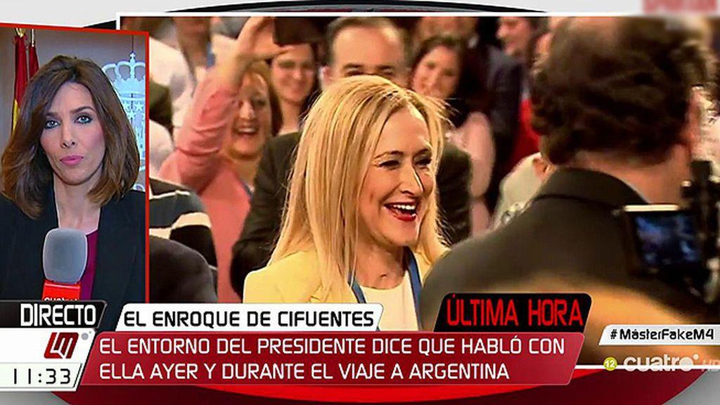 Rajoy no tiene prisa en precipitar las cosas con la polémica sobre Cifuentes y espera el dictamen de la URJC, según fuentes del PP