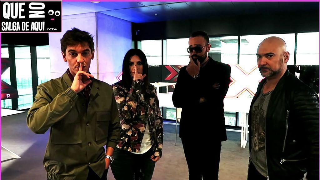 """¡EXclusivo! Nos colamos en la sala de jueces de 'Factor X' y descubrimos a """"Lobezna"""""""