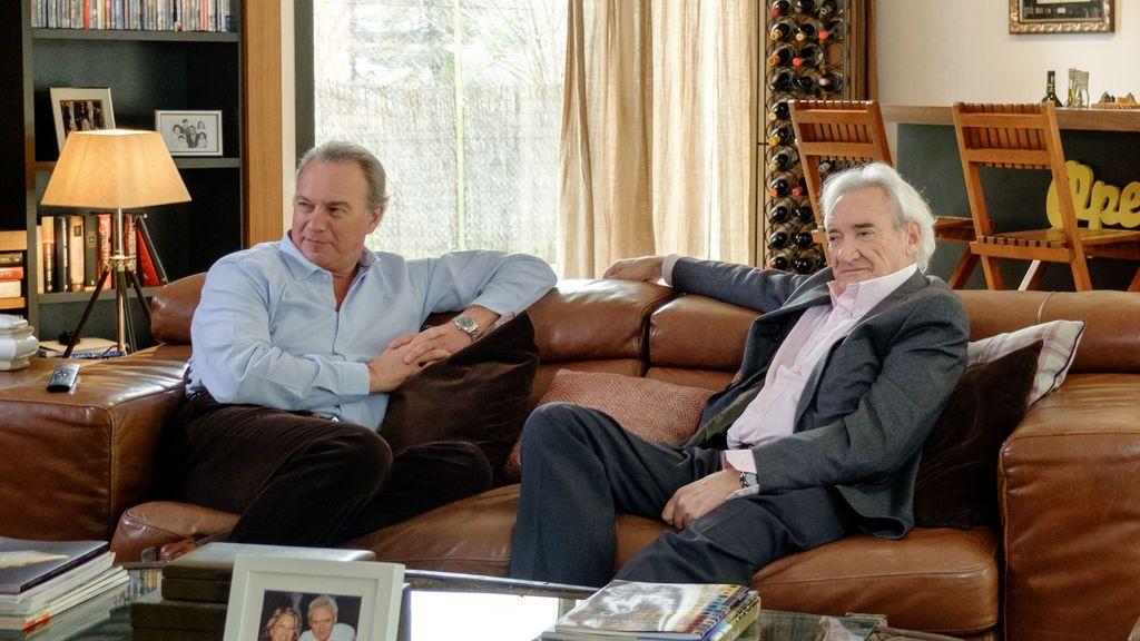Bertín Osborne y Luis del Olmo en el programa 'Mi casa es la tuya'.