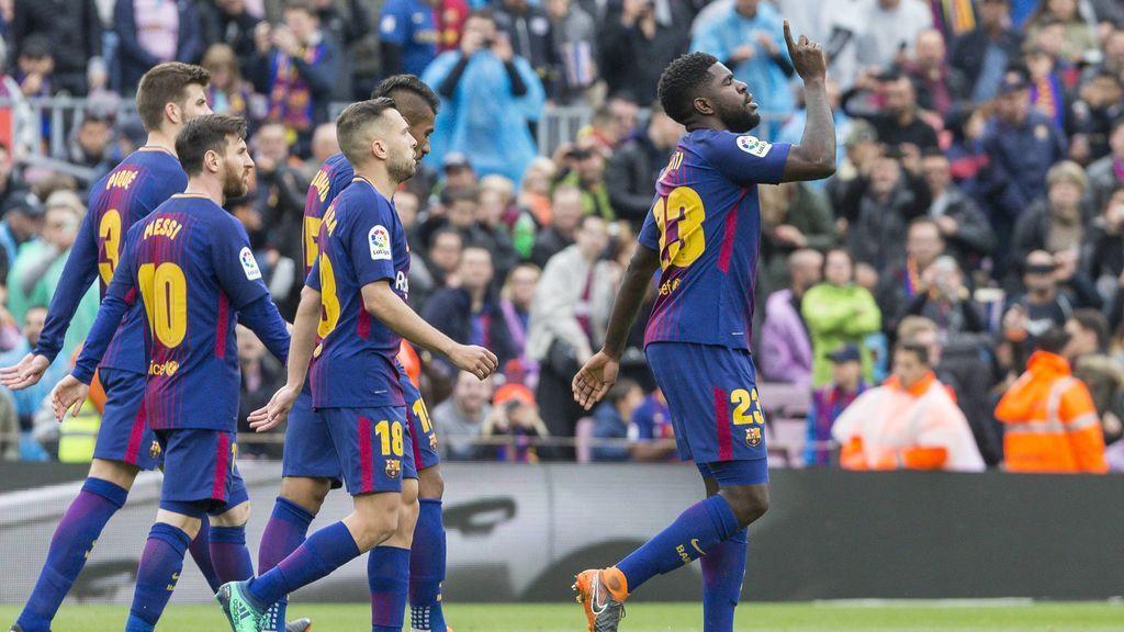 El Barcelona no levanta el pie del accelerador en Liga