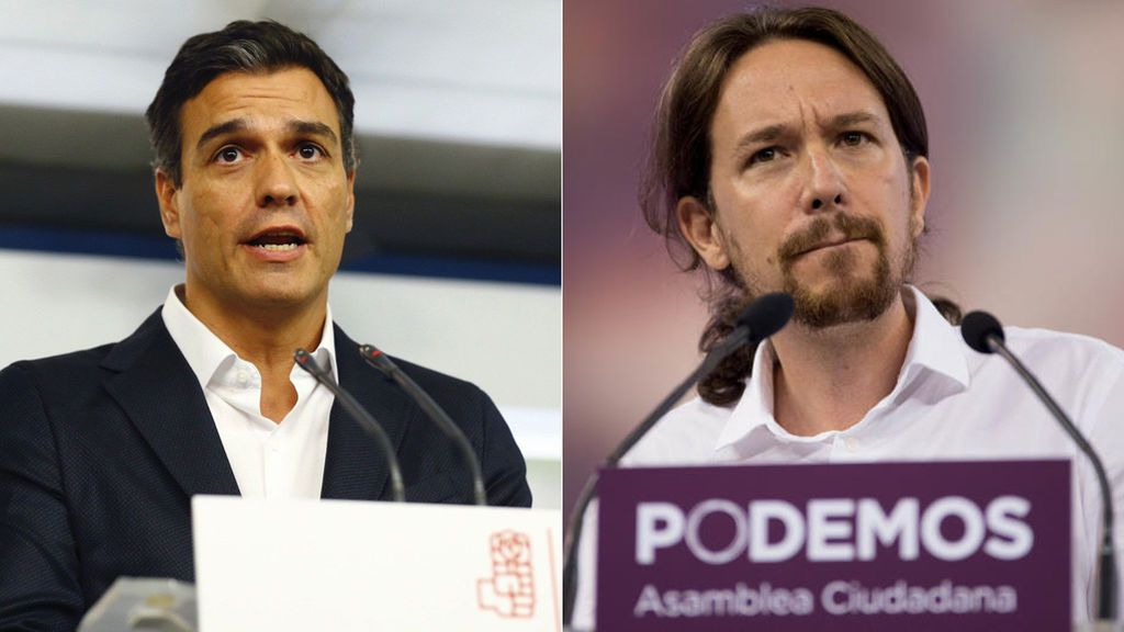 Pedro Sánchez Y Pablo Iglesias condenan el ataque coordinado a Siria