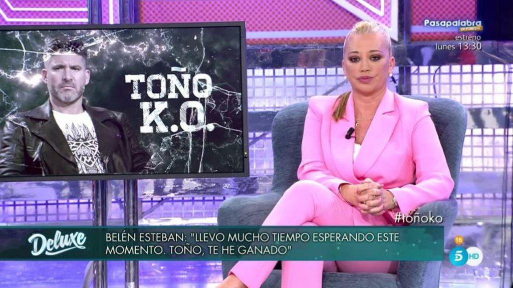 """Belén desvela las cifras: """"Yo nunca tuve un contrato con Toño del 30%"""""""