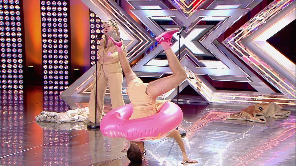 'Cómeme el donut' arrasa en 'Factor X': Apréndete la letra del hit del verano
