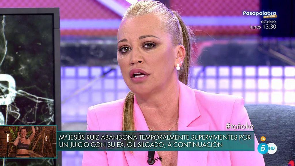 Belén Esteban explica los motivos por los que irá por lo penal contra Toño Sanchís