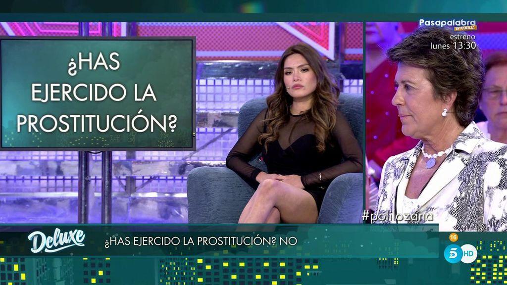 Miriam asegura que no ha ejercido nunca la prostitución y el polígrafo determina que...