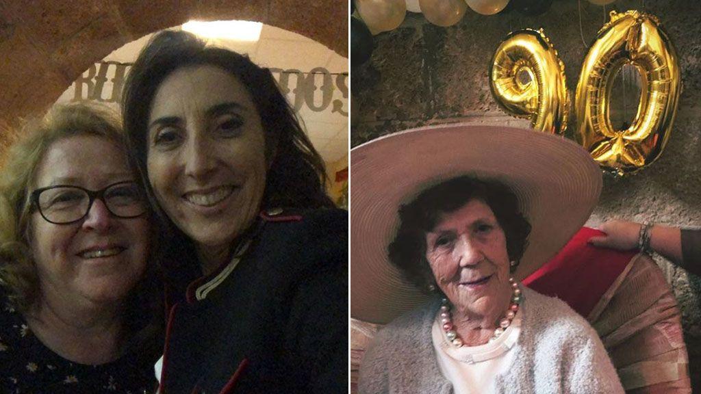 Paz Padilla hace realidad el deseo de su madre al cumplir 90 años: Un stripper con 30 cm de 'sorpresa'