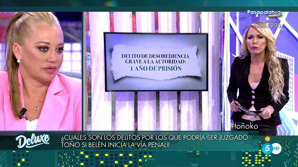 """Montse Suárez: """"Si a Toño le cae la pena máxima, son 23 años de prisión"""""""