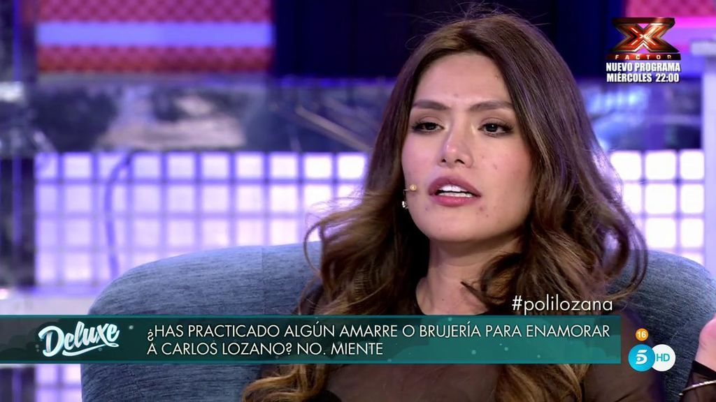 """El poli confirma que Miriam le ha hecho un """"amarre"""" a Carlos y ella cuenta sus poderes de seducción"""