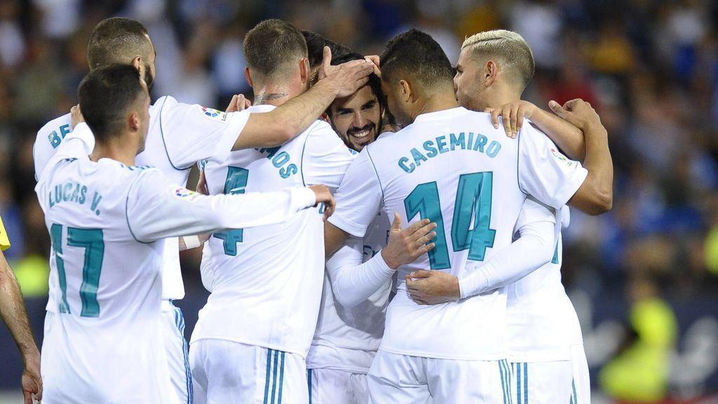 Un gran Isco lidera al Real Madrid en La Rosaleda (1-2)