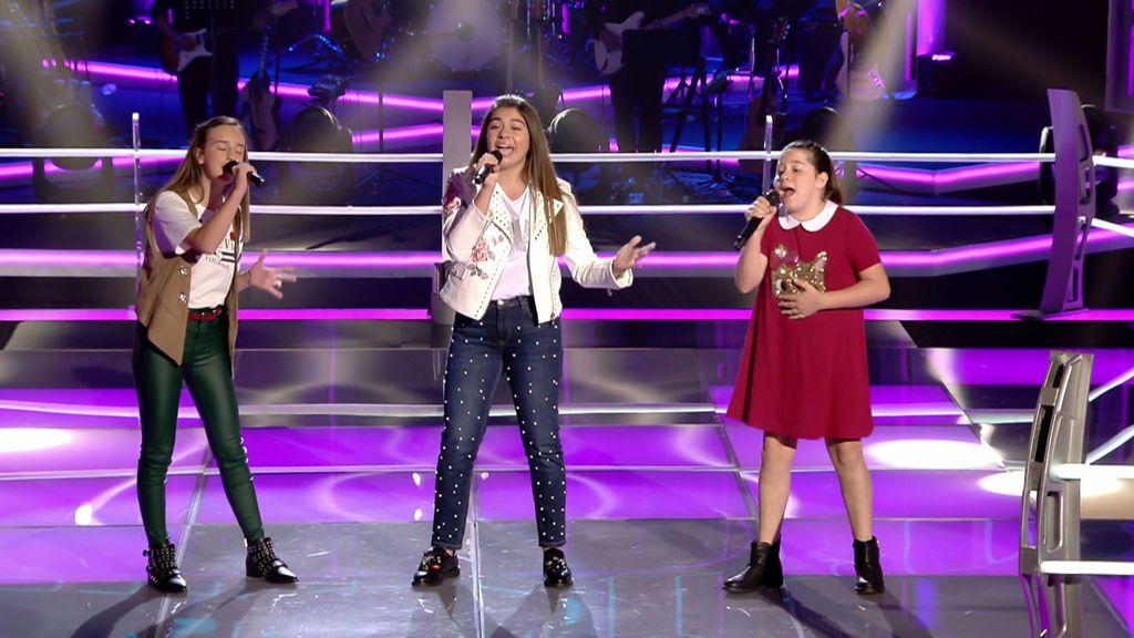 Rosalía, Laura y Ariadna lo clavan y complican la decisión de Antonio Orozco