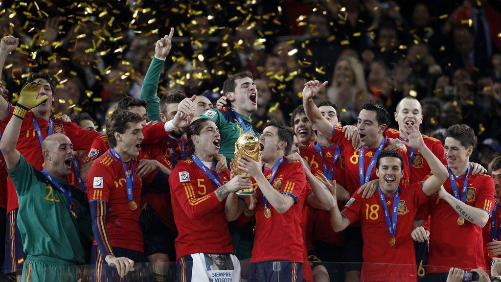 Crónica de una final: Sudáfrica 2010, España hace historia