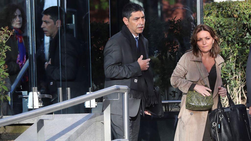 Trapero, César Puig y Pere Soler recogen el auto de procesamiento por sedición