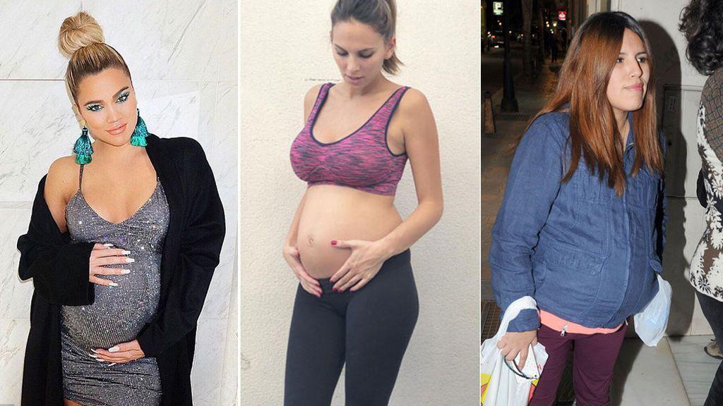 """Embarazadas y engañadas: Famosas """"en estado"""" de infidelidad"""