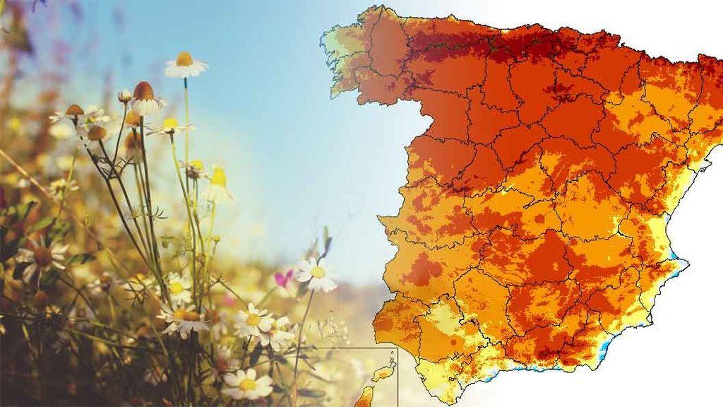 No solo es la primavera: la verdadera razón de que haga de repente tanto calor