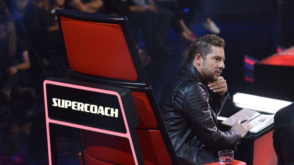 David Bisbal 'súpercoach'