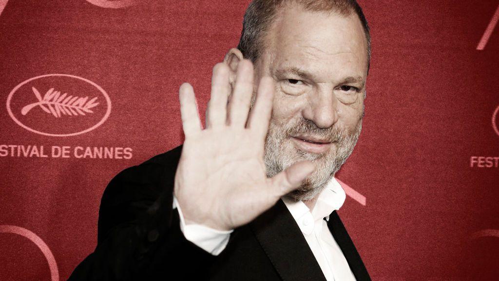 Harvey Weinstein en la edición 2017 del Festival de Cannes.