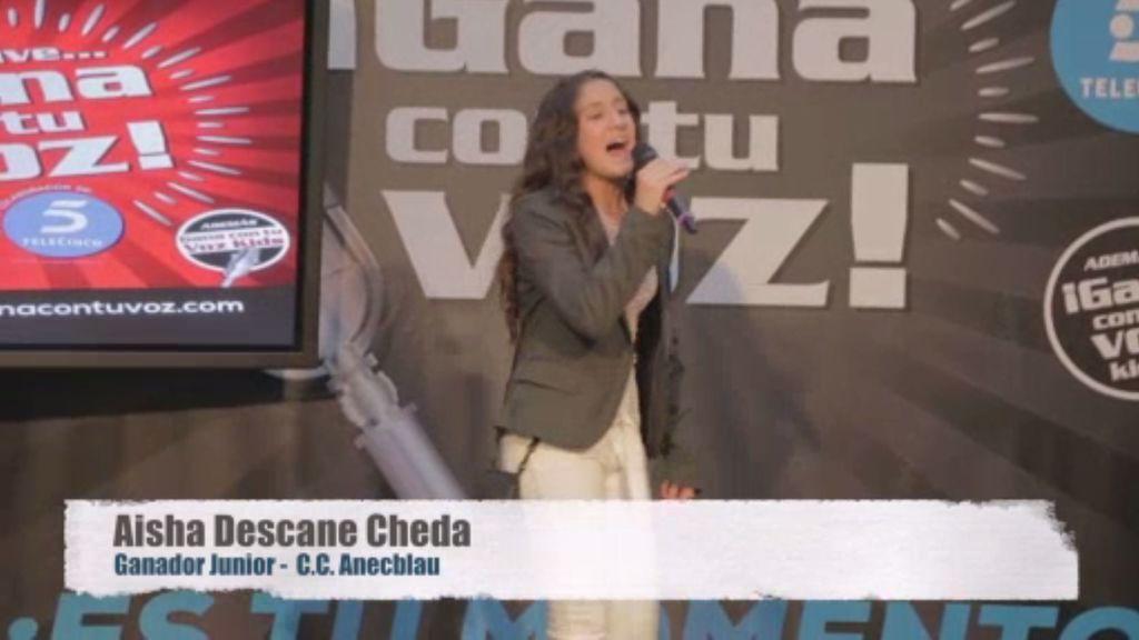 ¡Aisha Descane alcanza la primera posición en Barcelona!