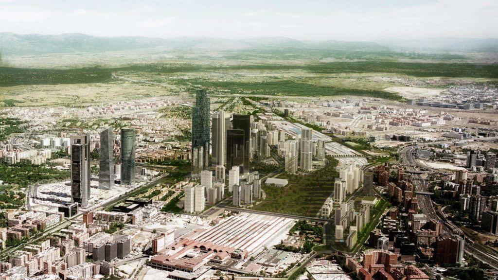 Fomento anuncia el acuerdo para el desarrollo en Madrid de la Operación Chamartín