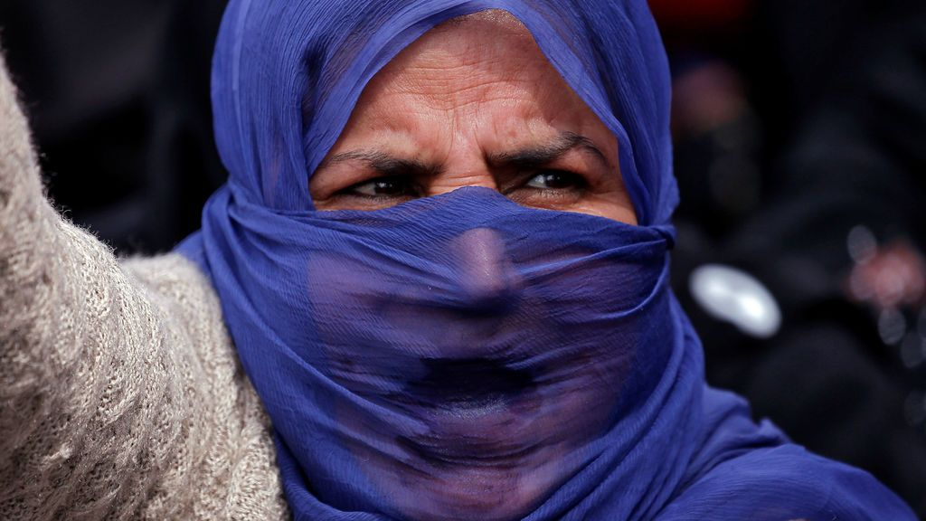 Protesta contra la violación de una niña en India