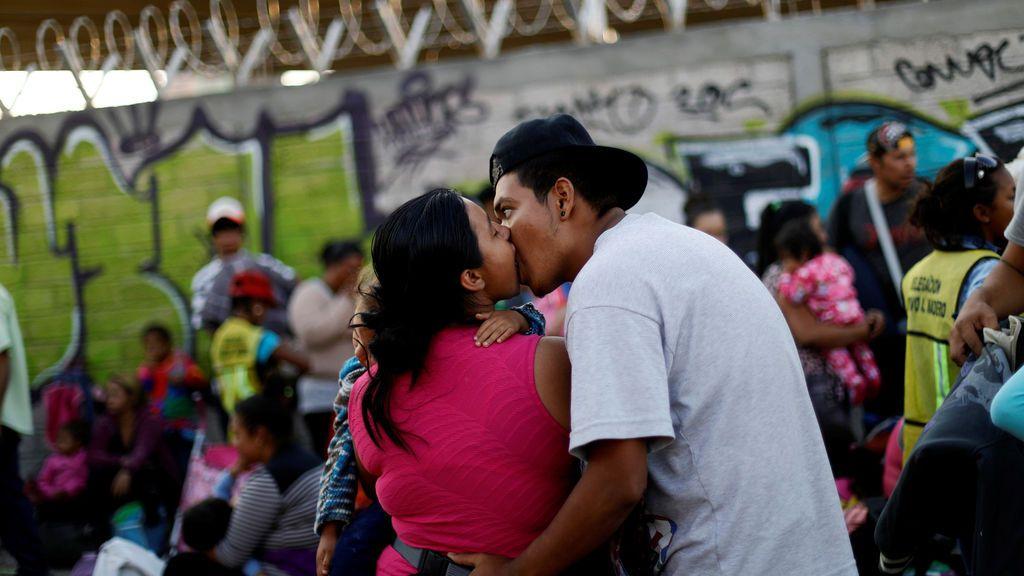 Siguen las caravanas de los desplazamientos desde México a Estados Unidos