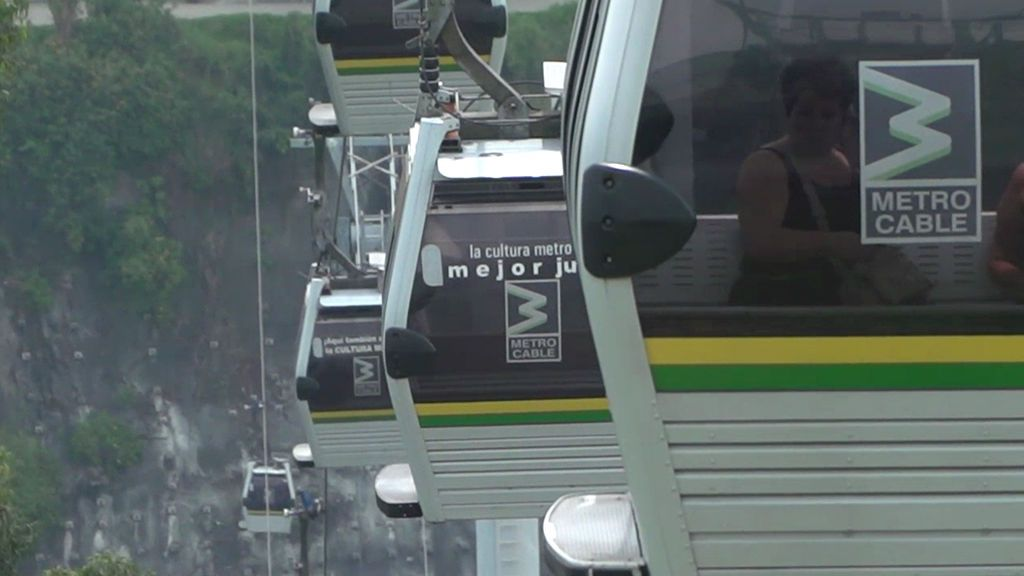 El metrocable, el gran invento de Medellín en materia de transporte