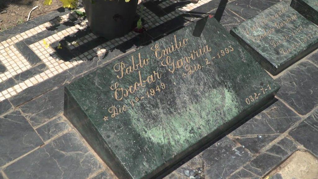 La tumba de Pablo Escobar, uno de los lugares más visitados de Medellín
