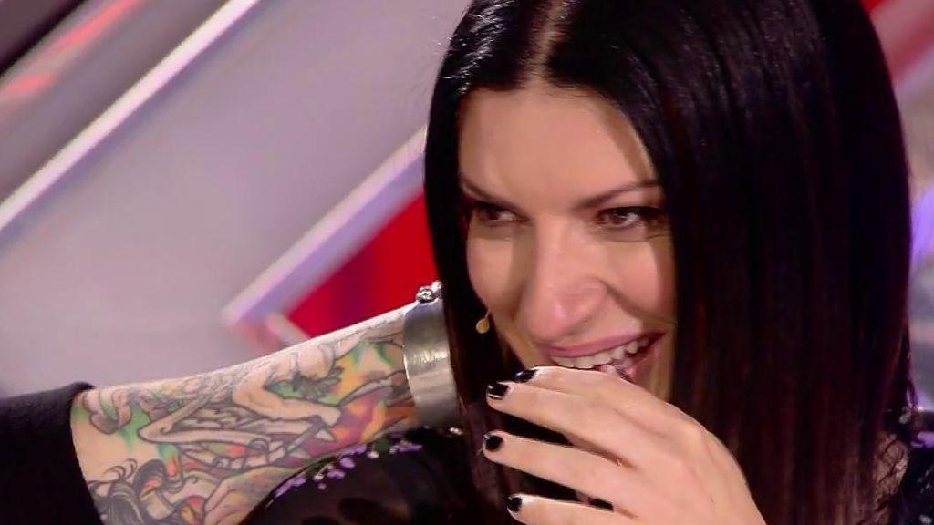 """Inés emociona a Laura Pausini y se lleva un gran piropo: """"Tú eres la versión española de mí a los 16 años"""""""