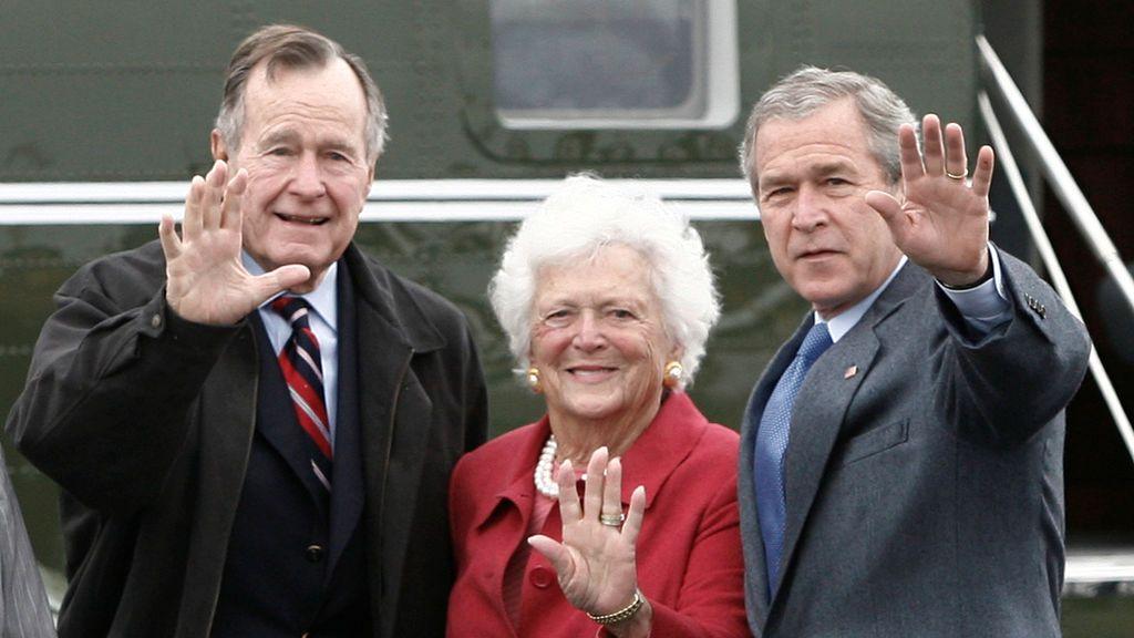 Muere a los 92 años Barbara Bush,  exprimera dama de Estados Unidos
