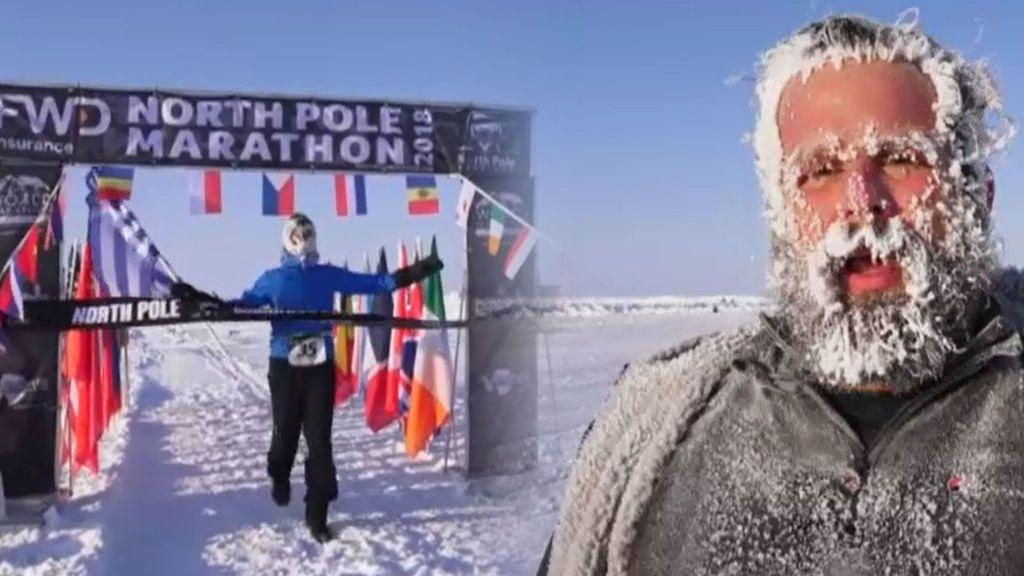 En vídeo: la 33º Edición de la carrera más fría del mundo con temperaturas de -25ºC