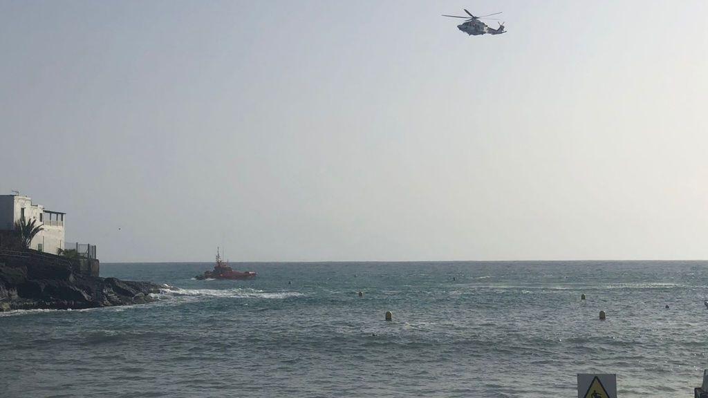 Un hombre fallece ahogado y otro permanece desaparecido en el sur de Tenerife