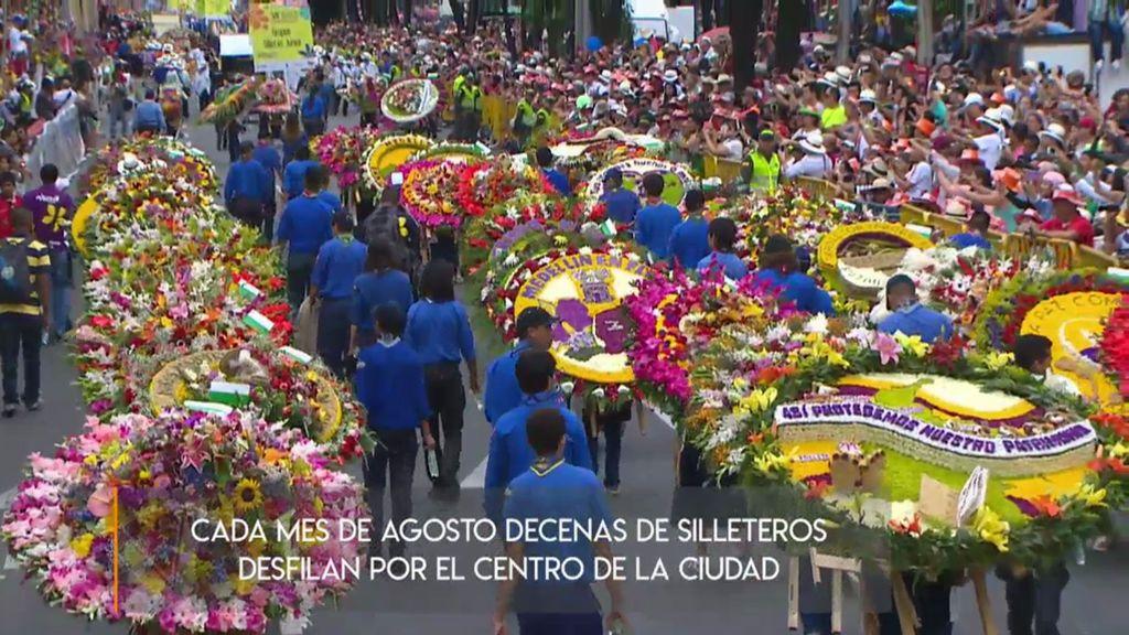 No es tan fácil ser sillero en Medellín, la ciudad de las flores