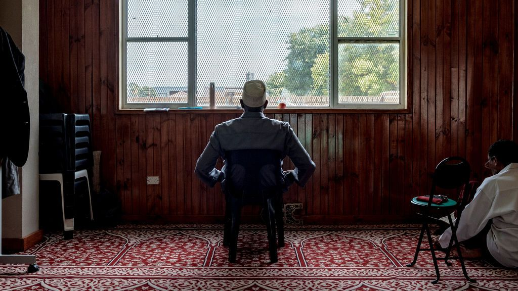 Rezos en una mezquita de Australia