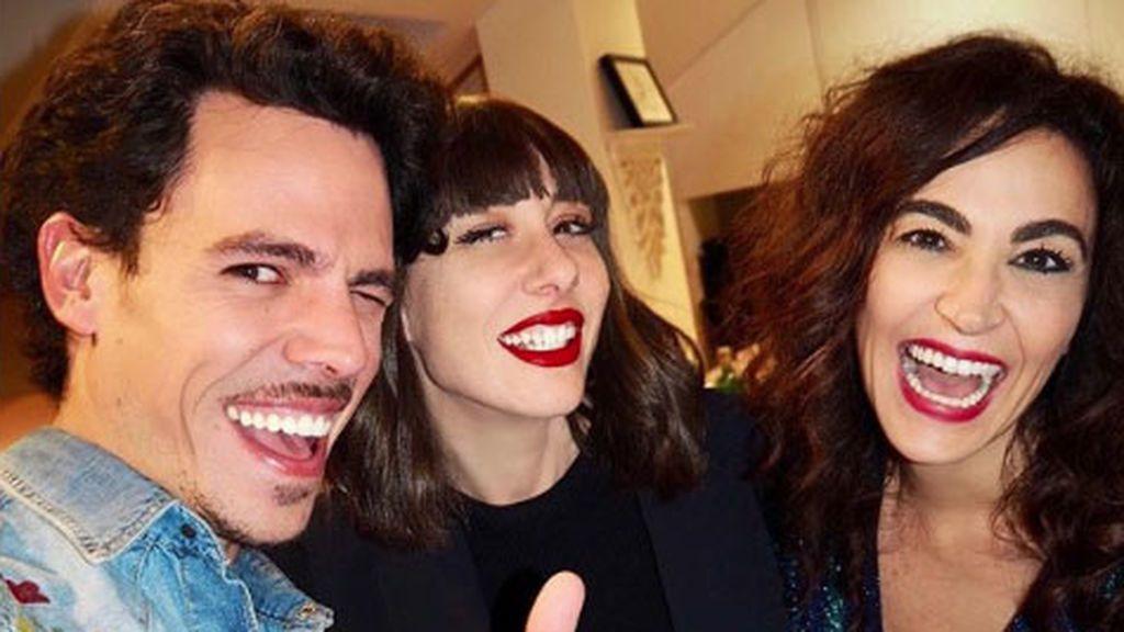 Natalia Ferviú se reencuentra con sus excompañeros con la ausencia de Pelayo