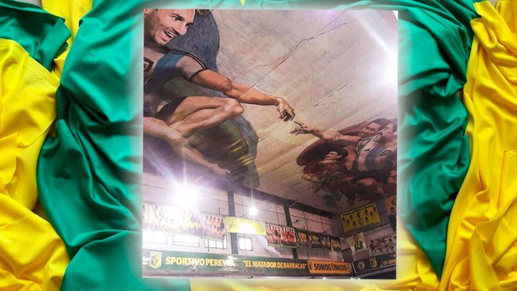 ¡¡Descubierta la 'Capilla Sixtina' de los futboleros en un club de barrio de Buenos Aires!!
