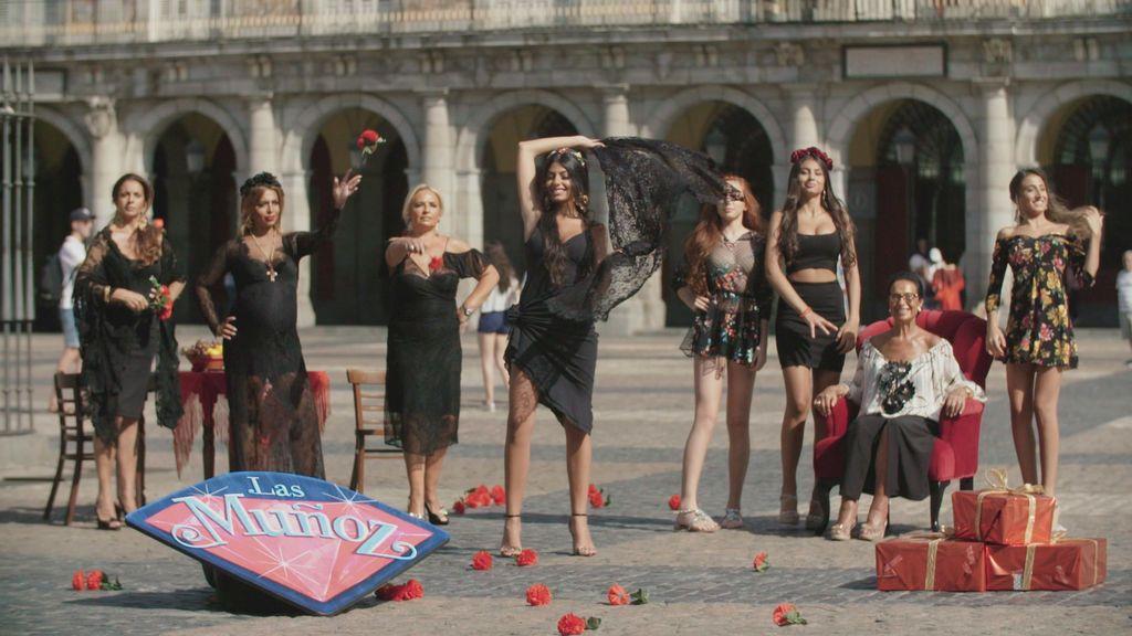 Las Muñoz, nueva familia de la cuarta temporada de 'Los gipsy kings'.