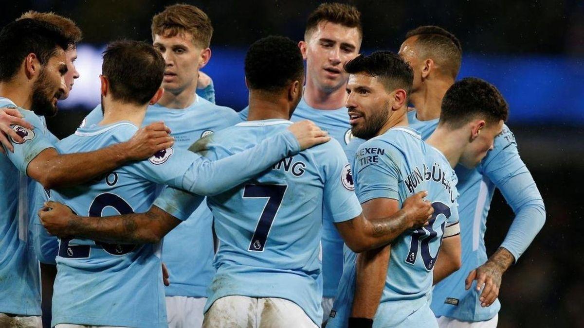 El Manchester City celebrará su título de liga con... fabada y sidra asturiana