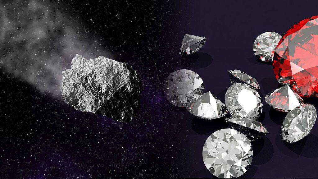 Se ha descubierto: un meteorito cargado de diamantes impactó en La Tierra