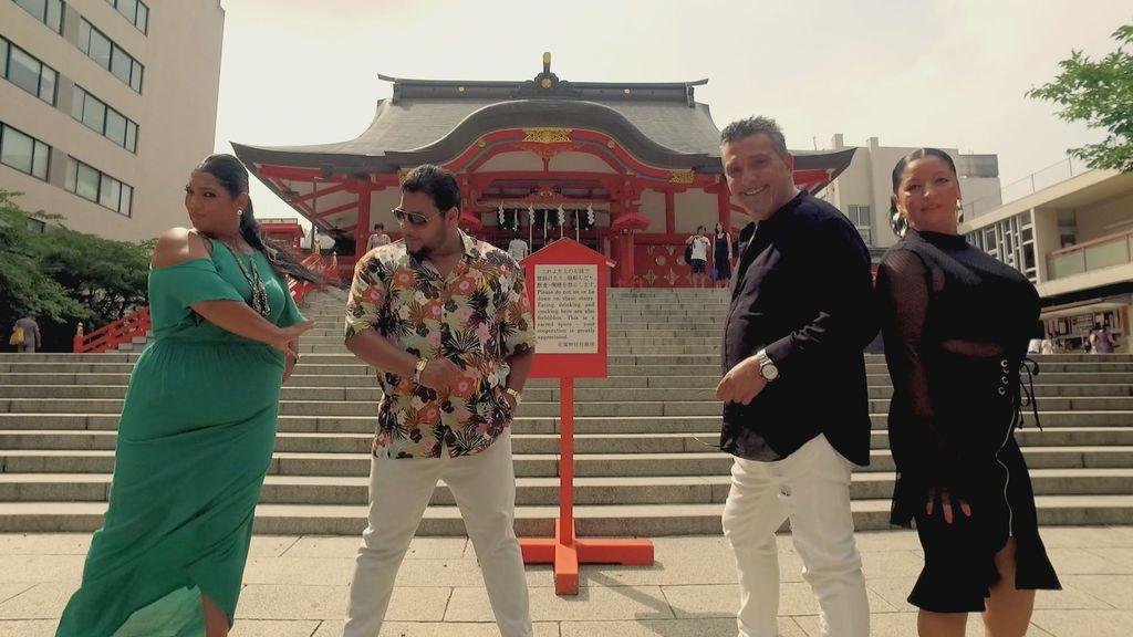 Los Fernández Navarro se proponen ser artistas reconocidos mundialmente, en la cuarta temporada de 'Los gipsy kings'.