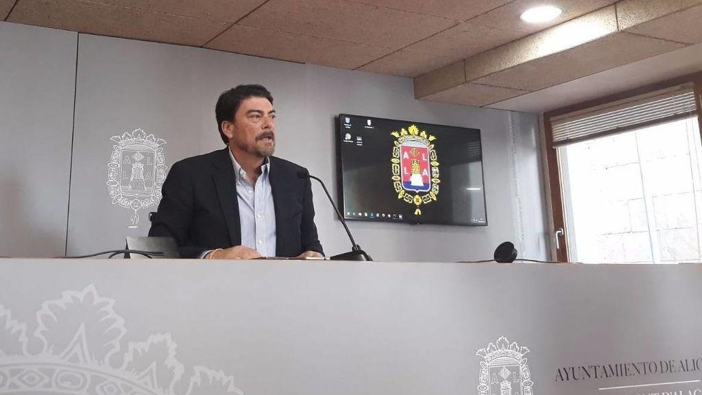El PP recupera por sorpresa la alcaldía de Alicante