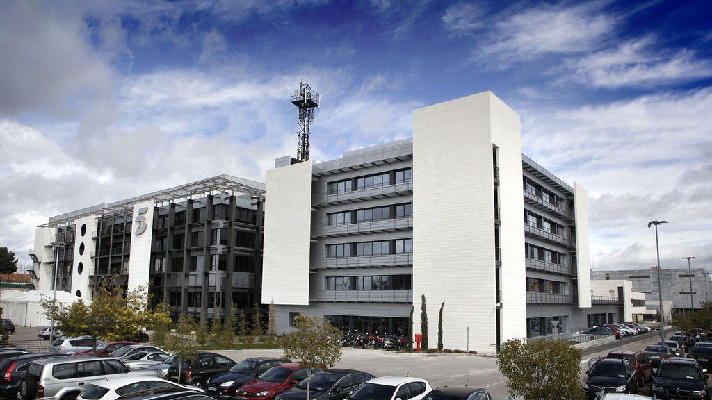 Sede de Mediaset España, en Madrid.