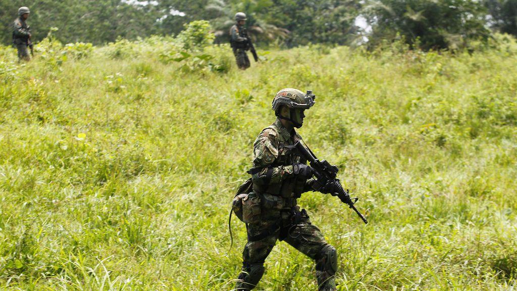 Vigilancia en la frontera colombiana